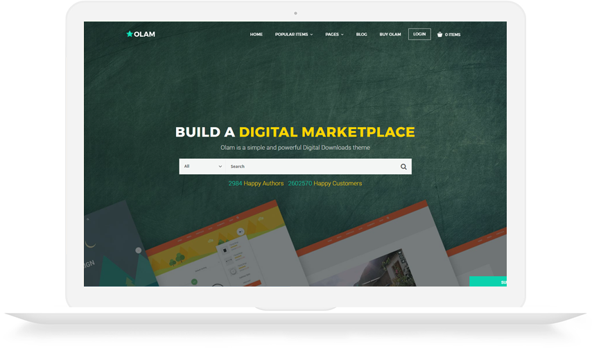 Marketplace WordPress Theme